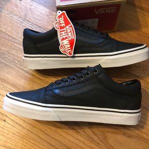 4dfe500540 NewinBox Vans Old Skool Premium Leather Black